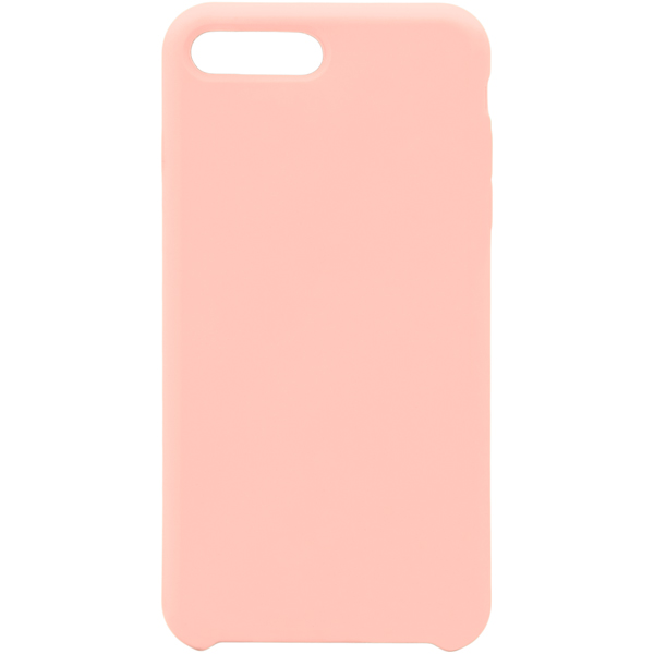 Чехол для iPhone InterStep iPhone 8/7 Plus SOFT-T METAL ADV розовый